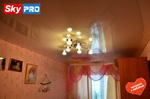 Натяжной потолок с фотопечатью в спальне отзыв