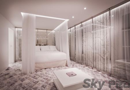 Дизайн потолока со светодиодной подсветкой
